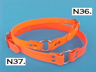 Orange BiPlastic Collars